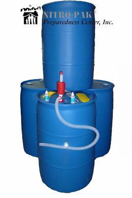 Water Storage Barrels