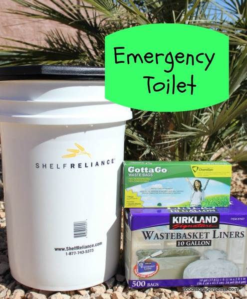 How To Be Prepared With An Emergency Toilet