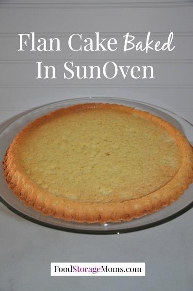 Fresh Peach Flan Cake With Glaze - Food Storage MomsFood Storage Moms
