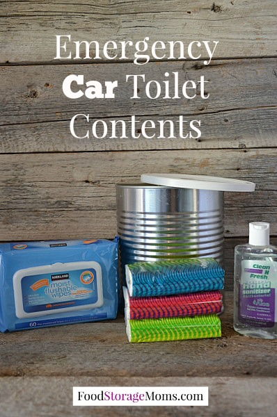 Emergency Car Toilet You Need In Your Vehicle | via www.foodstoragemoms.com