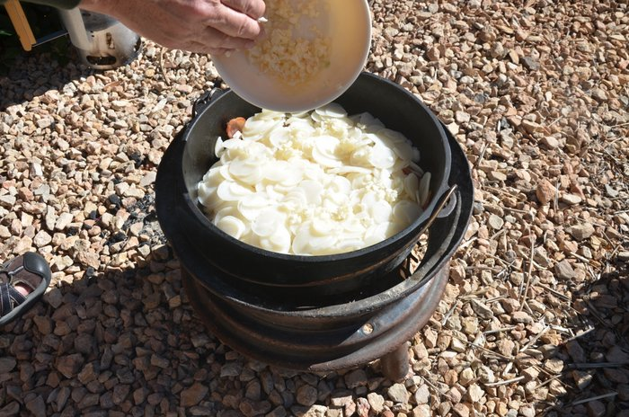 dHow To Layer A Dutch Oven Breakfast You Will Love by Food Storage Momsutch oven breakfast