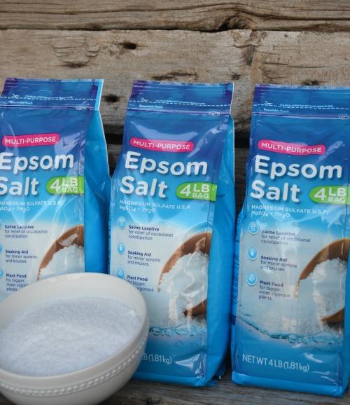 store epsom salts