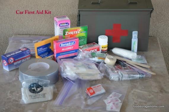 First Aid Kit In An Ammo Box | via ww.foodstoragemoms.com