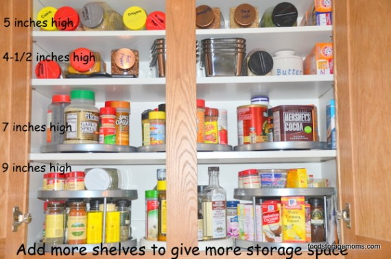 Kitchens need more shelves