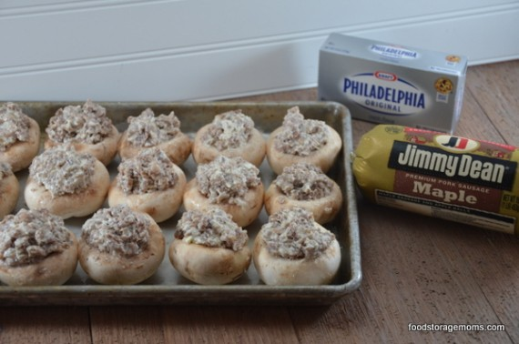 Cream Cheese Mushroom Appetizers