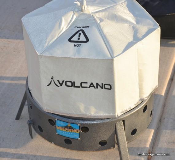 Volcano Stove Tent