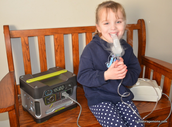 Nebulizer- What To Do When You Lose Power | via www.foodstoragemoms.com