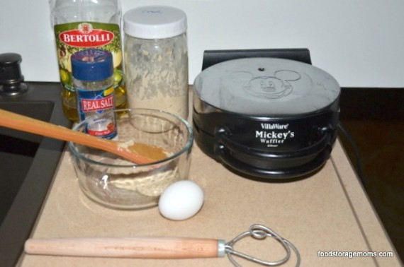 Natural Yeast Waffle Recipe