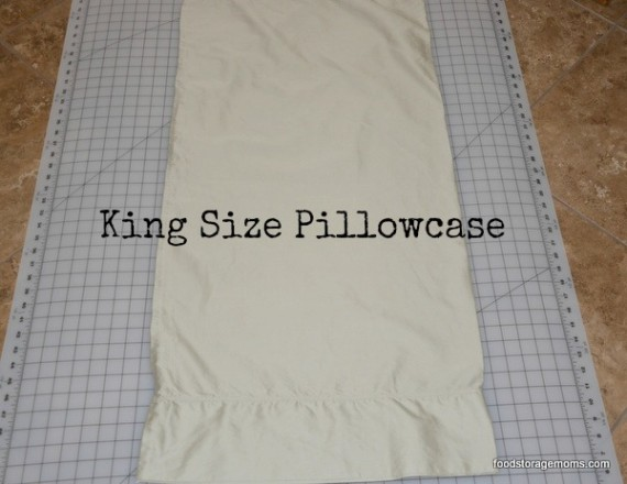 King size pillowcase