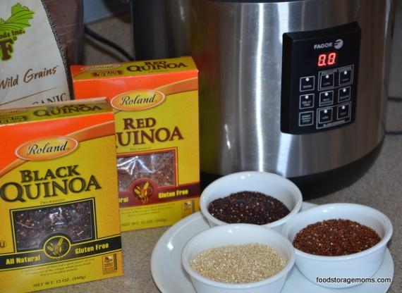 Quinoa Red, Black Or White