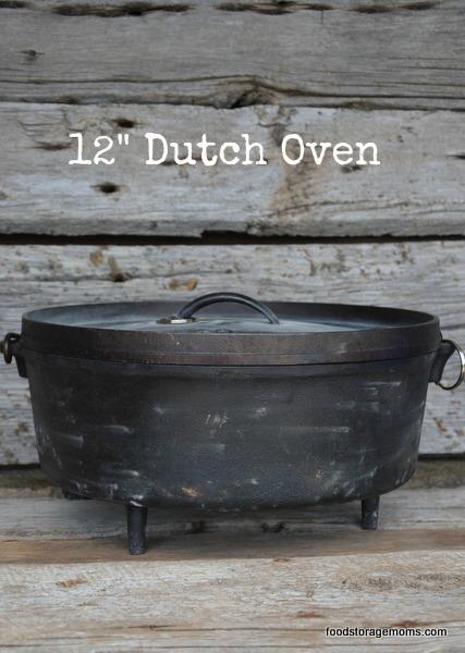 12 Inch Dutch Oven