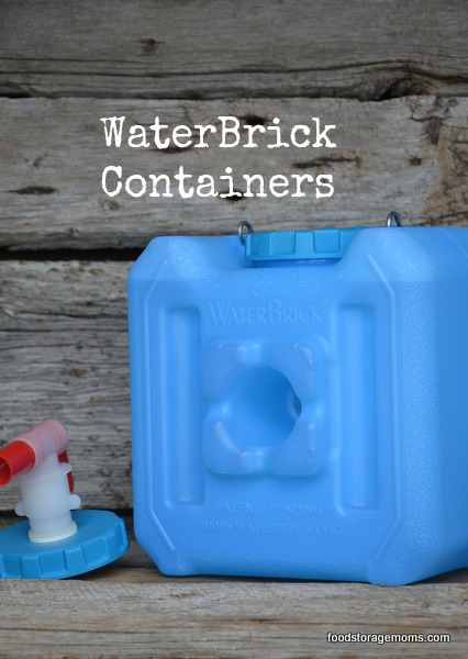 WaterBrick Containers