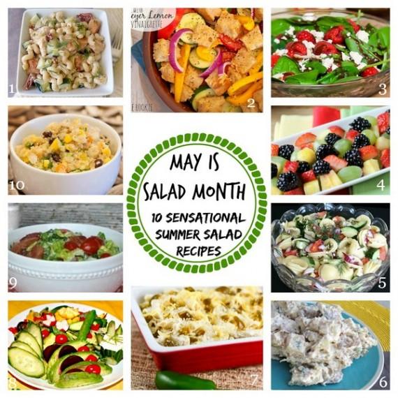 Summer Salad Round Up