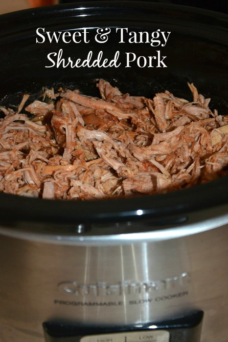 Sweet and Tangy Slow Cooker Pork