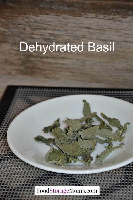 Dehydrated Fresh Basil