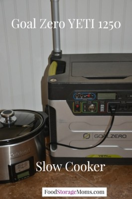 Slow Cooker Using Solar Power