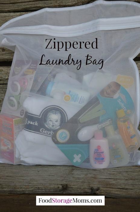 Zippered Lingerie Laundry Bag