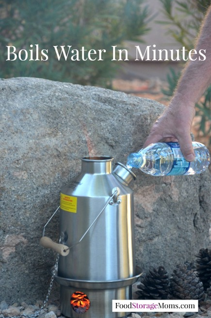 Boil Water In Kelly Kettle