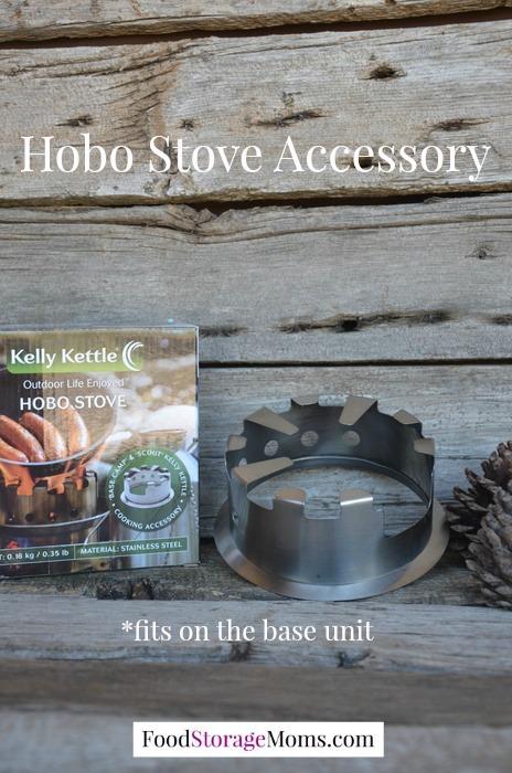 Hobo Stove Accessory