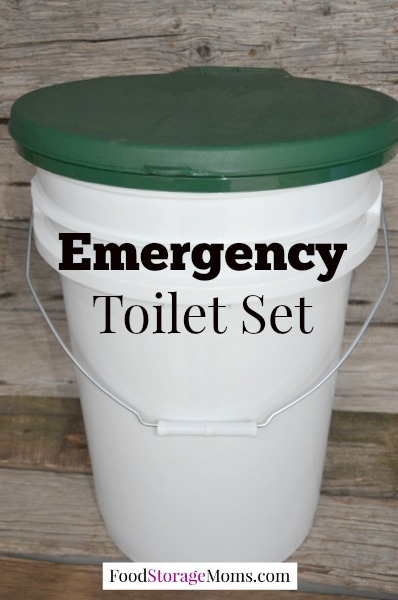 Emergency Toilet Set You May Need In A Disaster