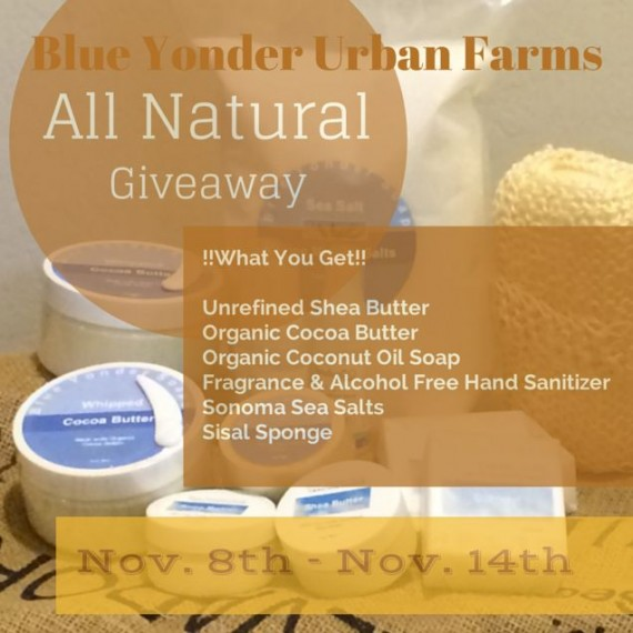 All Natural Spa Products Giveaway Nov.8th-14th, 2014 by FoodStorageMoms