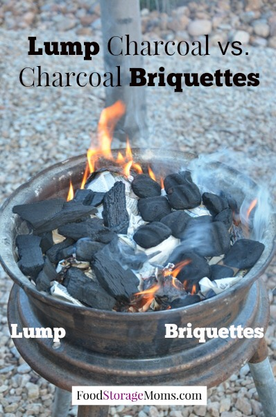 Charcoal Briquettes Wood ~ How to store charcoal for cooking emergencies