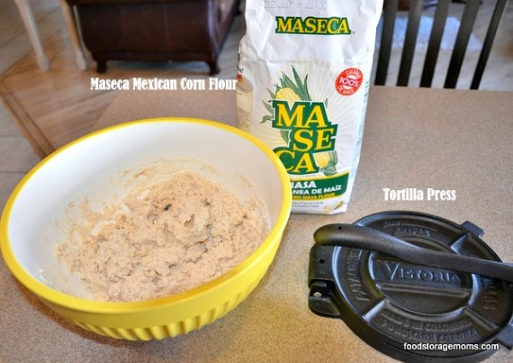 Tortillas-Corn-Whole-Wheat-Spinach Recipes | via www.foodstoragemoms.com