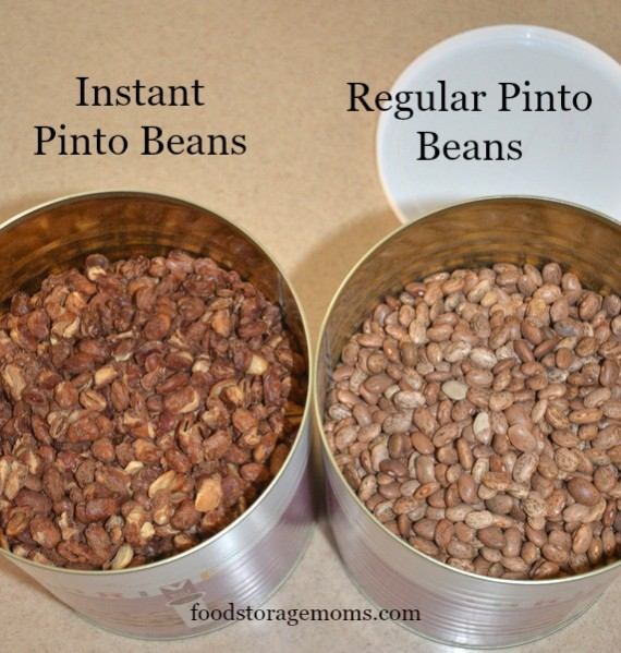 Did You Say I Can Make Instant Beans? | by FoodStorageMoms.com