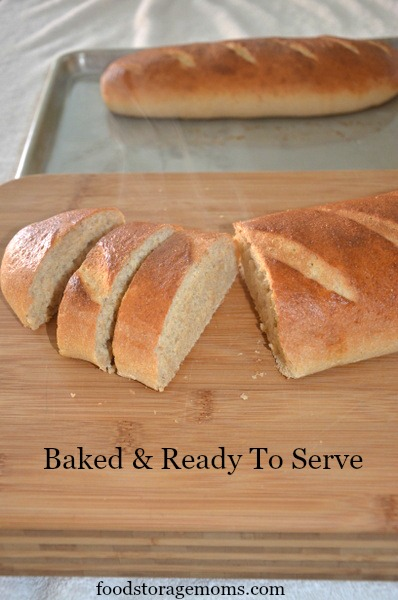 How To Make Whole Wheat French Bread In One Hour | by FoodStorageMoms.com