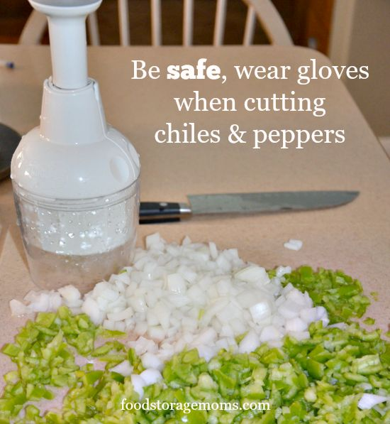 How To Make Salsa That Is Safe To Can | by FoodStorageMoms.com