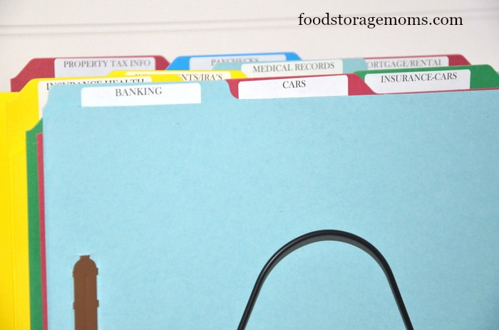 How To Organize Your Bills In One Afternoon by FoodStorageMoms.com